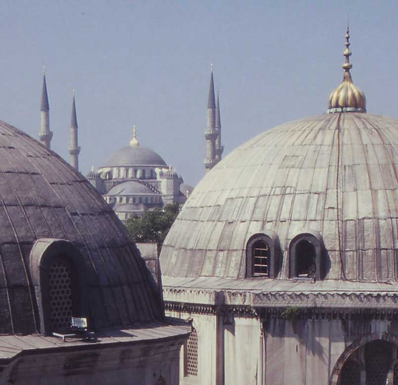Sultanahmet and Ayasofya Mosques, İstanbul